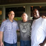 "Kashif, Sandy Stein & Bob Plotnik Working on the documentary "" The History of R&B"""