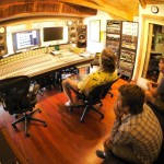 Bob, Jeff & Rick recording the Micah Wolf Album