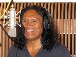 Henry Kapono at Grace Recording Studio