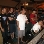 Class at Mad Hater Studio in LA July 2010